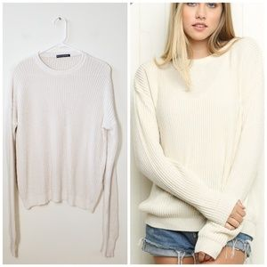 fc44d51d6 Women Brandy Melville Ollie Sweater on Poshmark